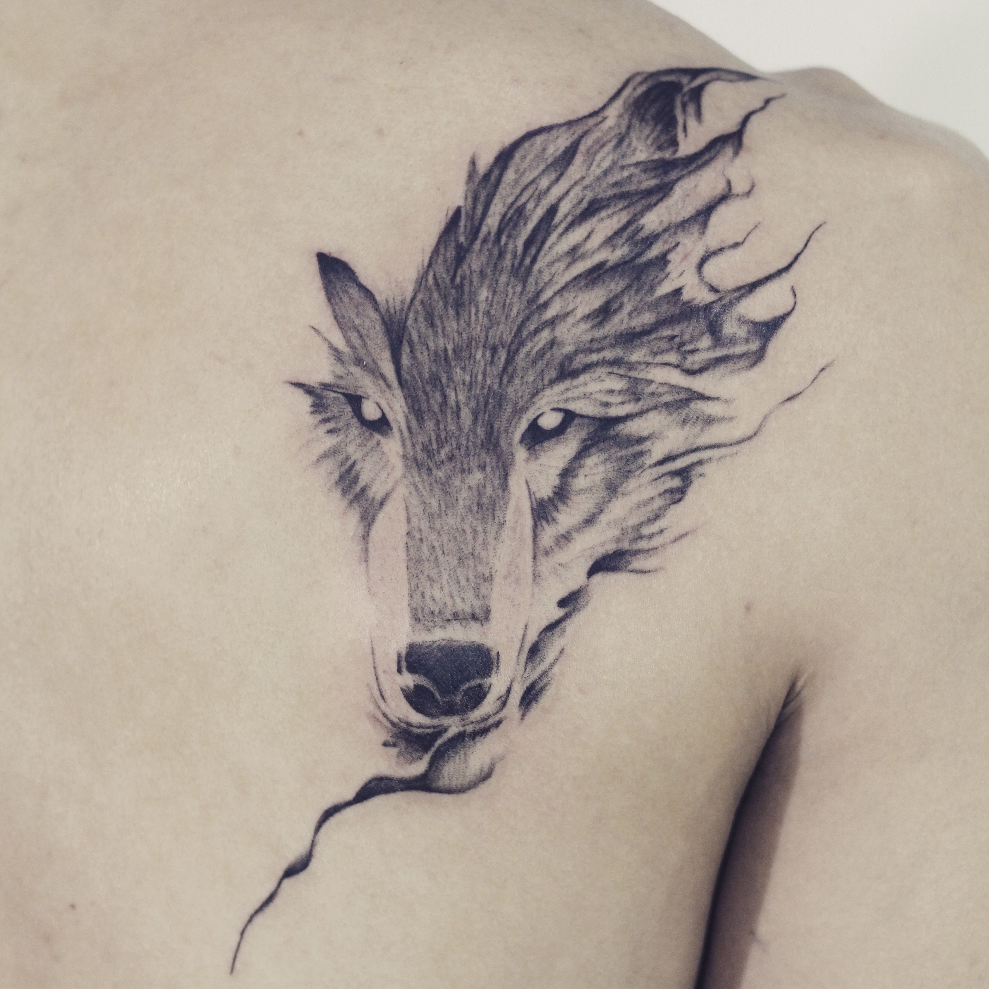 Check It Out In 2020 Animal Tattoos Wolf Face Tattoo Nature Tattoos