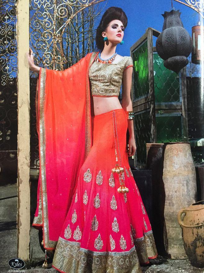 Asiana Weddings summer 2015 - in  Jolita Jewellery's braided statement necklace