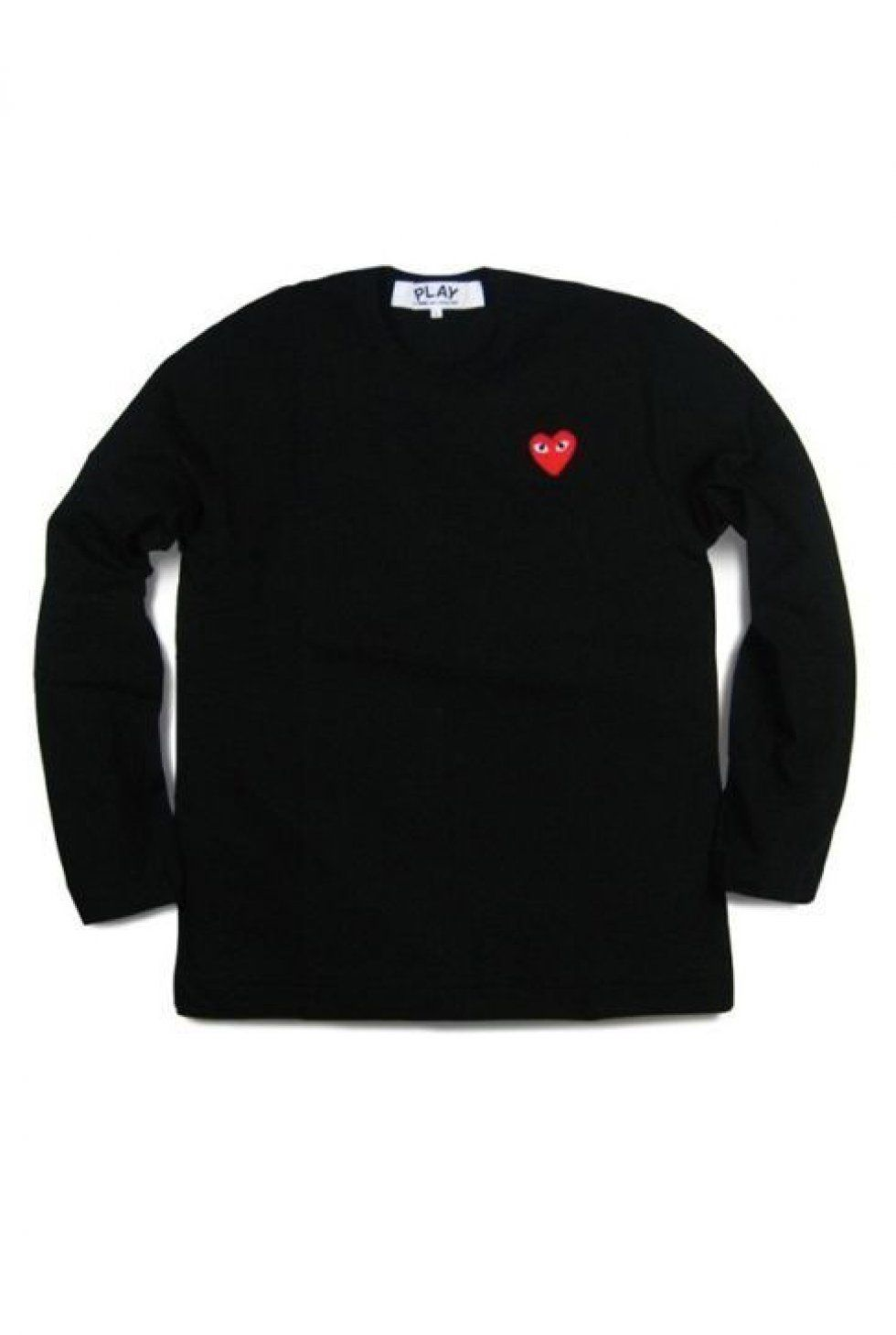 a030bc6c65d5ce Wood Wood - Comme Des Garcons - CDG Play - Ladies L S shirt - Red heart