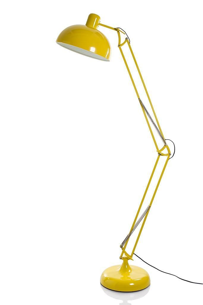 Definitely Feeling I Need Some Kind Of Yellow Floor Lamp / Desk Lamp For  The Office