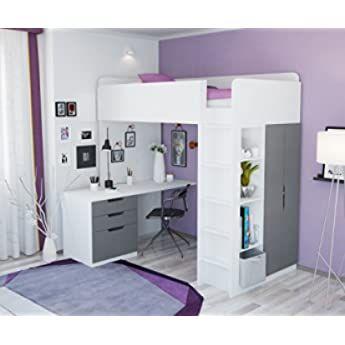 Hochbett Mit Schreibtisch Und Gästebett 2021