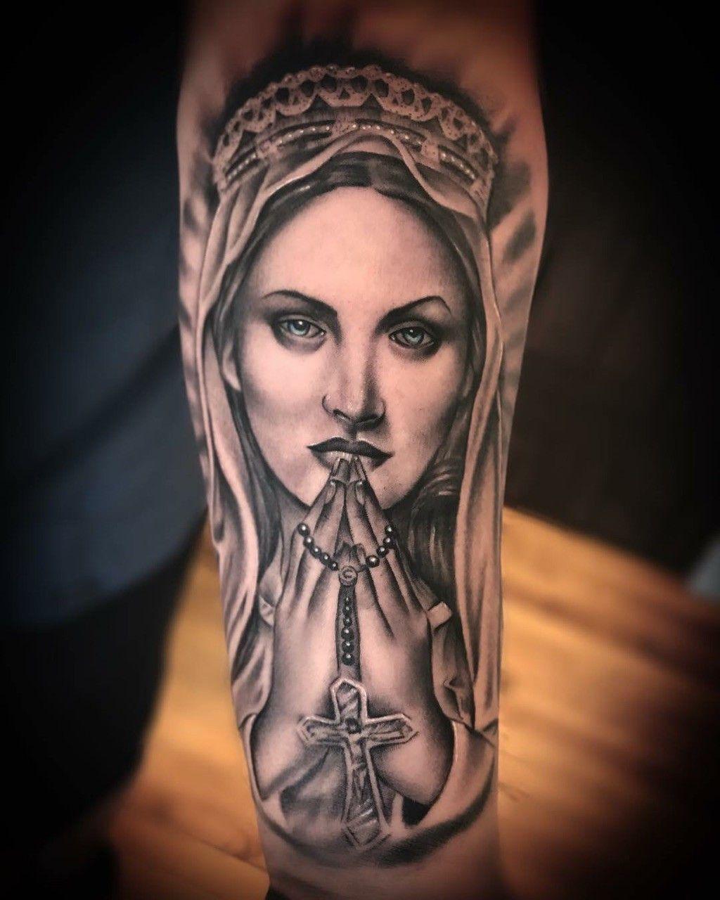 Santa Maria Tattoo Tatuagem Masculina Antebraco Tatuagem