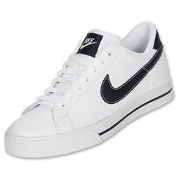 white nike casual shoes