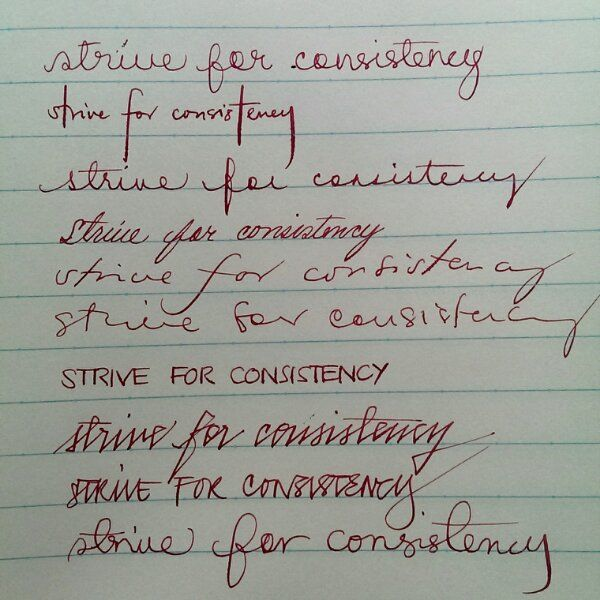 Handwriting Tips Article