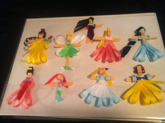 Disney Princess Hair Clips