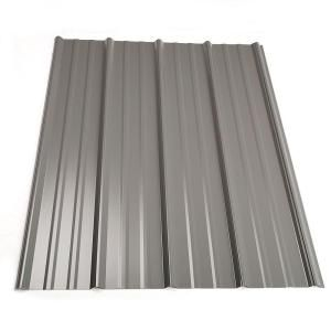 Metal Sales 8 Ft Classic Rib Steel Roof Panel In Charcoal 2313217 At The Home Depot Bar Front Roof Panels Steel Roof Panels Metal Roof Panels
