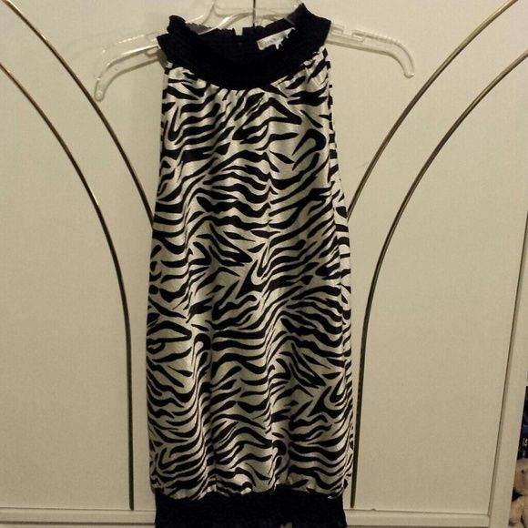 Animal print shirt Stops just above knees. Dresses