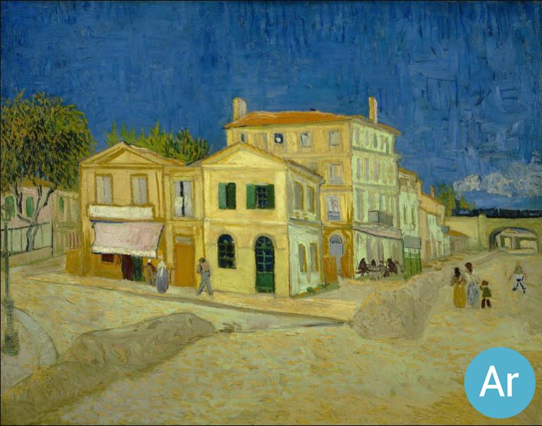 V. Van Gogh, La casa gialla \