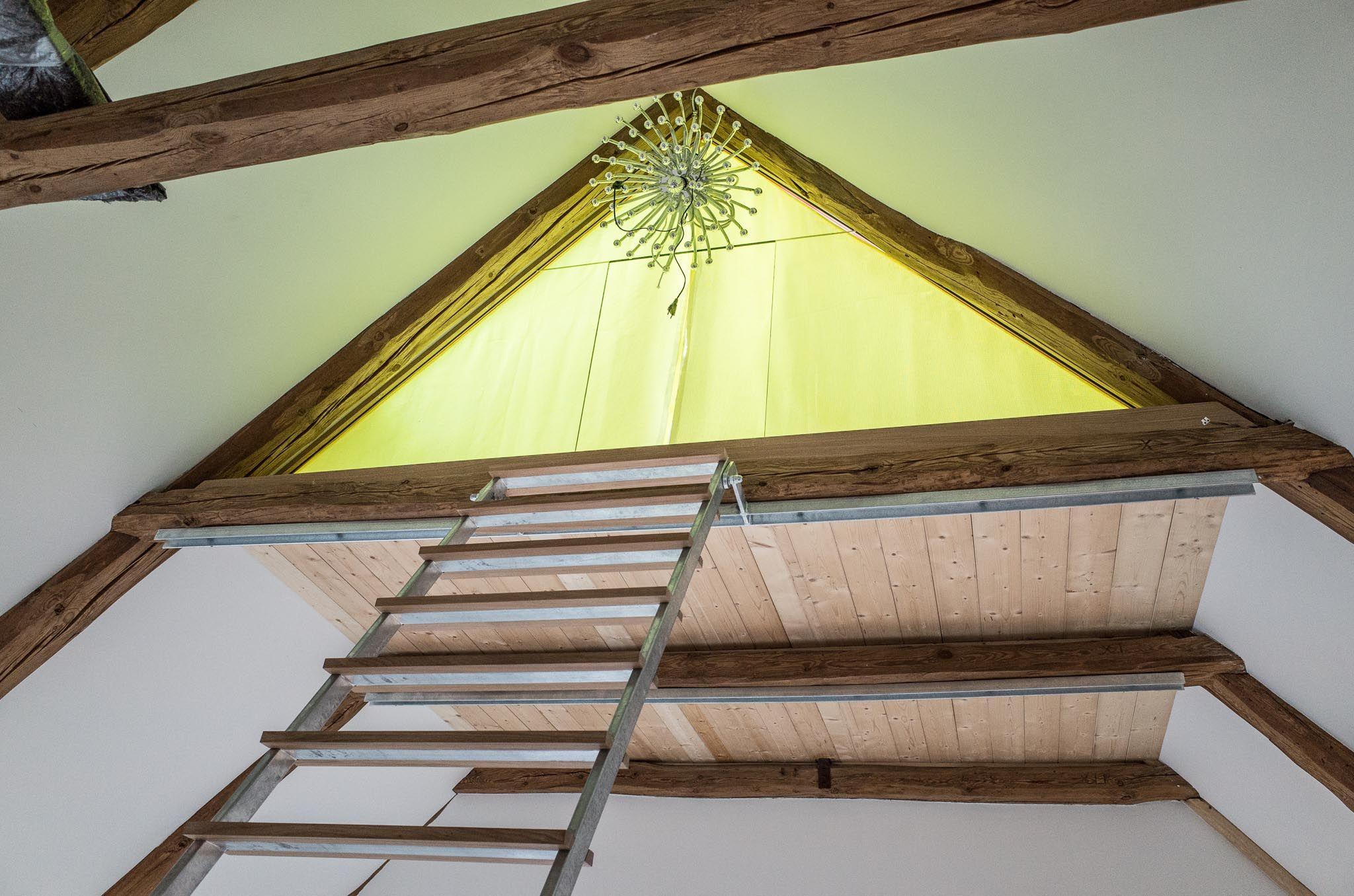 Lesezimmer lesen bilderbuch versteck auguck vogelkoje dachboden schlafzimmer spitzboden - Dachzimmer ausbauen ...