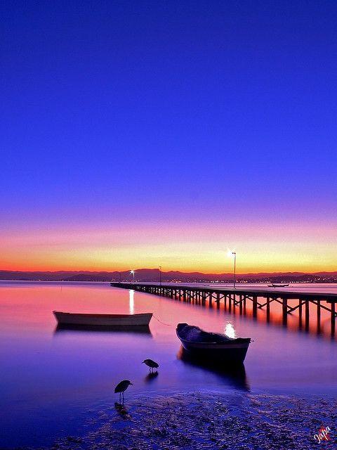 HDR Pier by Japa 森, via Flickr