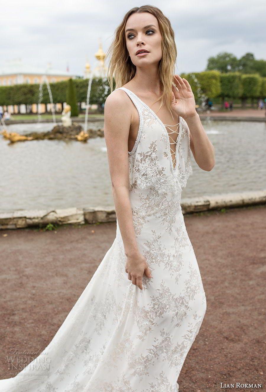 "Lian Rokman 2018 Wedding Dresses — ""Stardust"" Bridal Collection | Novios"