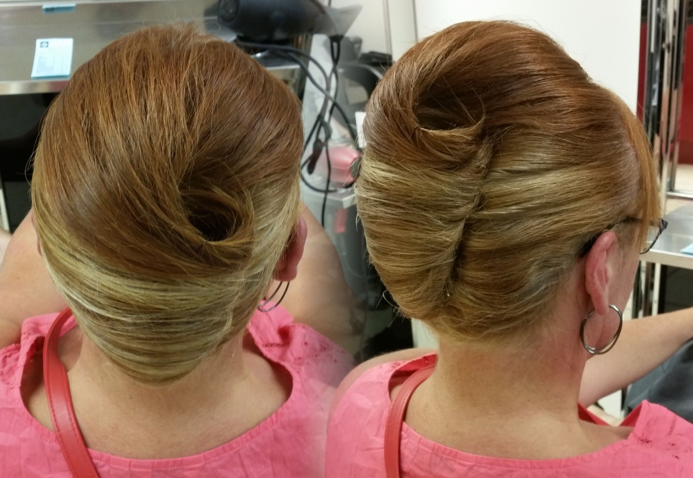 Classic French Pleat 12.12.12  French twist hair, Hair styles