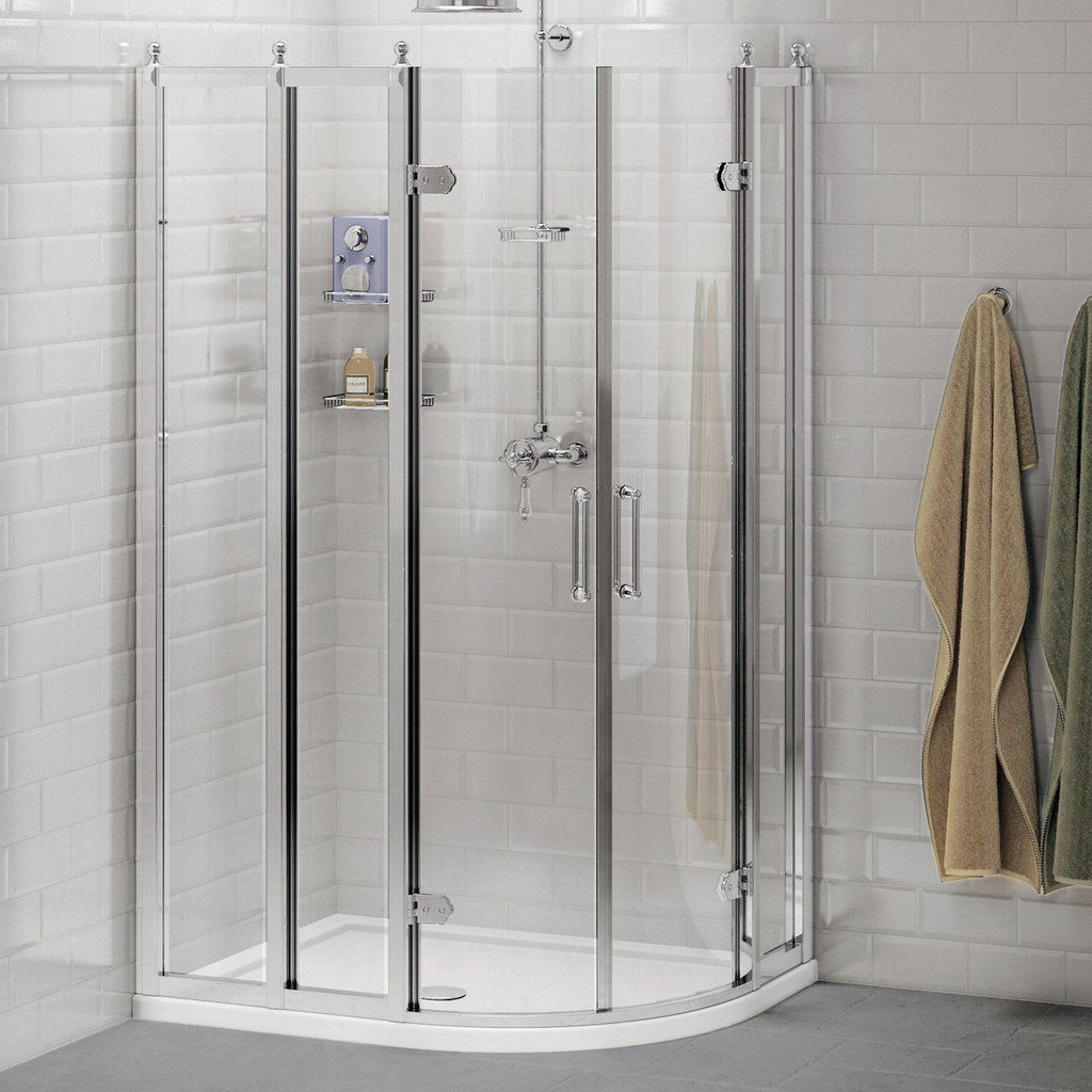 Burlington Offset Quadrant Shower Enclosure Without Tray Quadrant Shower Enclosures Quadrant Shower Shower Enclosure