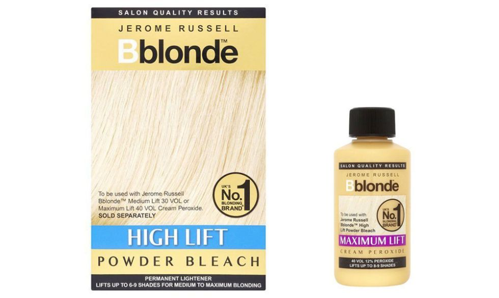 Jerome Russell B Blonde Powder Bleach And Maximum Lift Cream