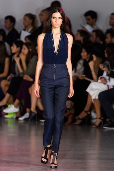 Costume National 1 spring/summer 2015 ready-to-wear collection. #retro #runway #mfw