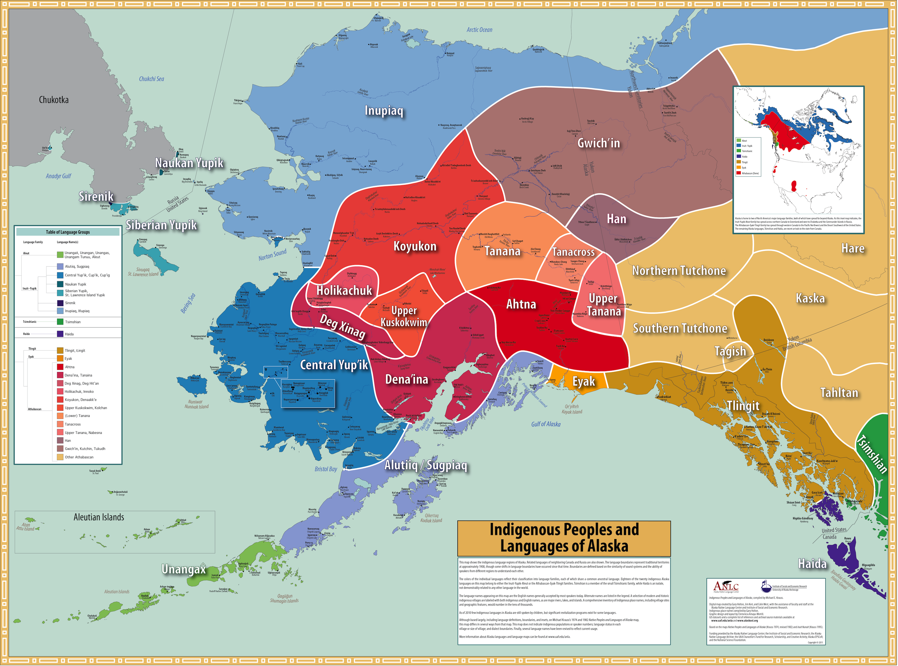 Census Alaska Maps Alaska Diomede Pinterest Alaska And Language - Alaska maps