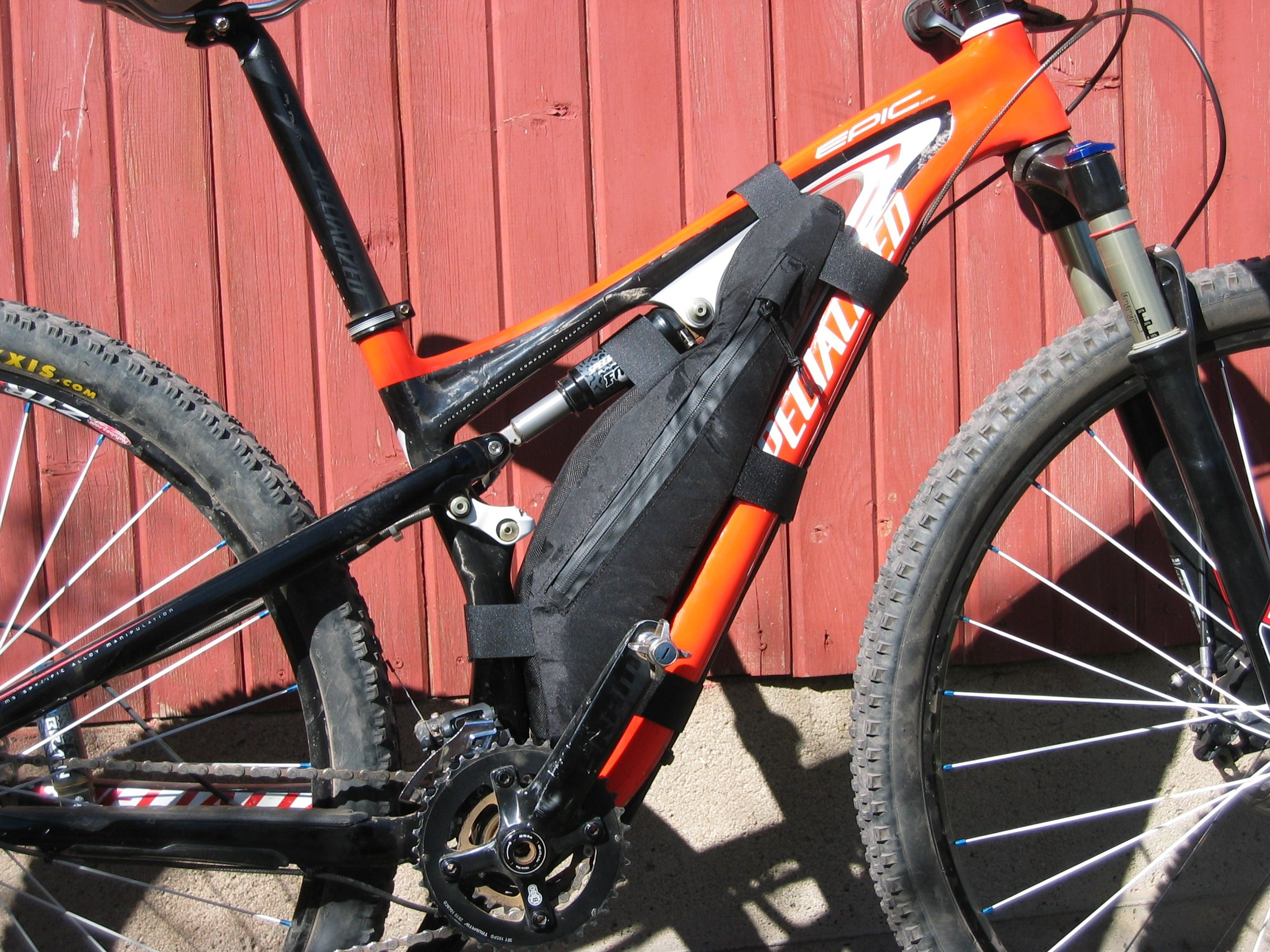 Full Suspension Frame Bag Bolder Bikepacking Bikepacking