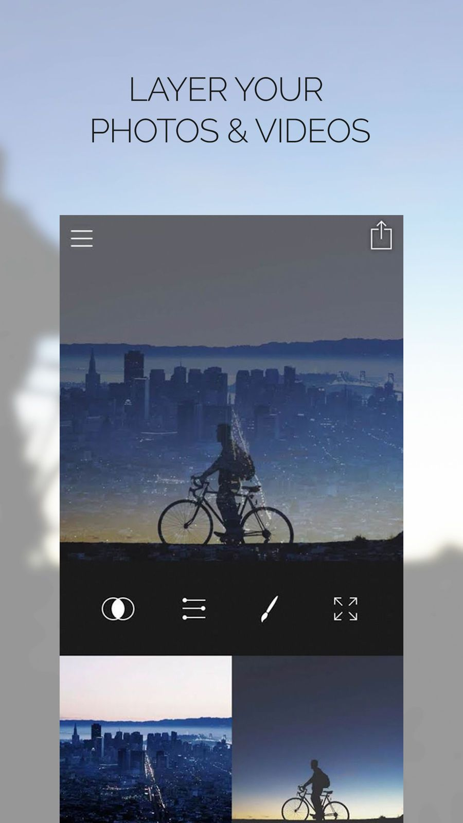 Fused: Overlay Photo And Video #Apps#Tiger#LLC#Entertainment