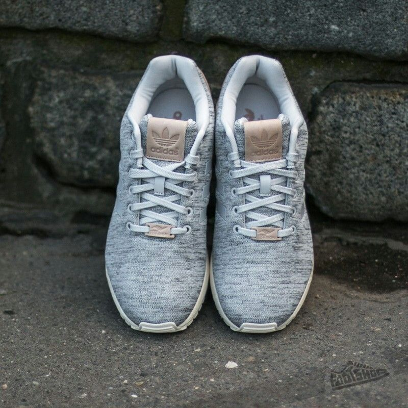 29988bf52 Adidas ZX flux solid grey   pale nude