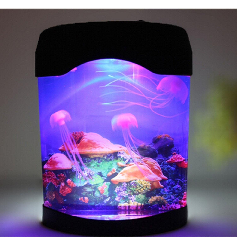 Led Kunstliche Quallen Aquarium Beleuchtung Jellyfish Dekoration Fisch Behalter Nachtlampe Ad Aquarium Beleuchtung Kinder Lampen Quallen