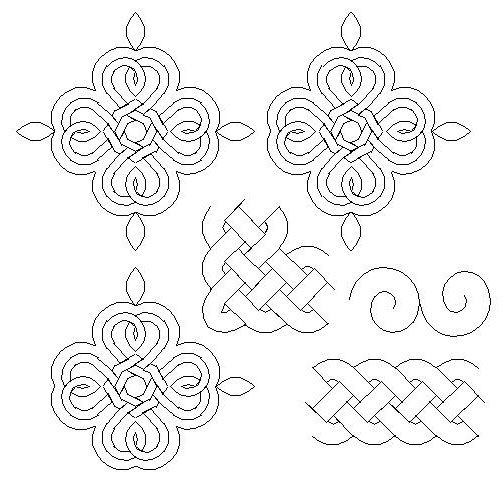 Celtic Hearts Double Irish Chain set. Available at http://www ...