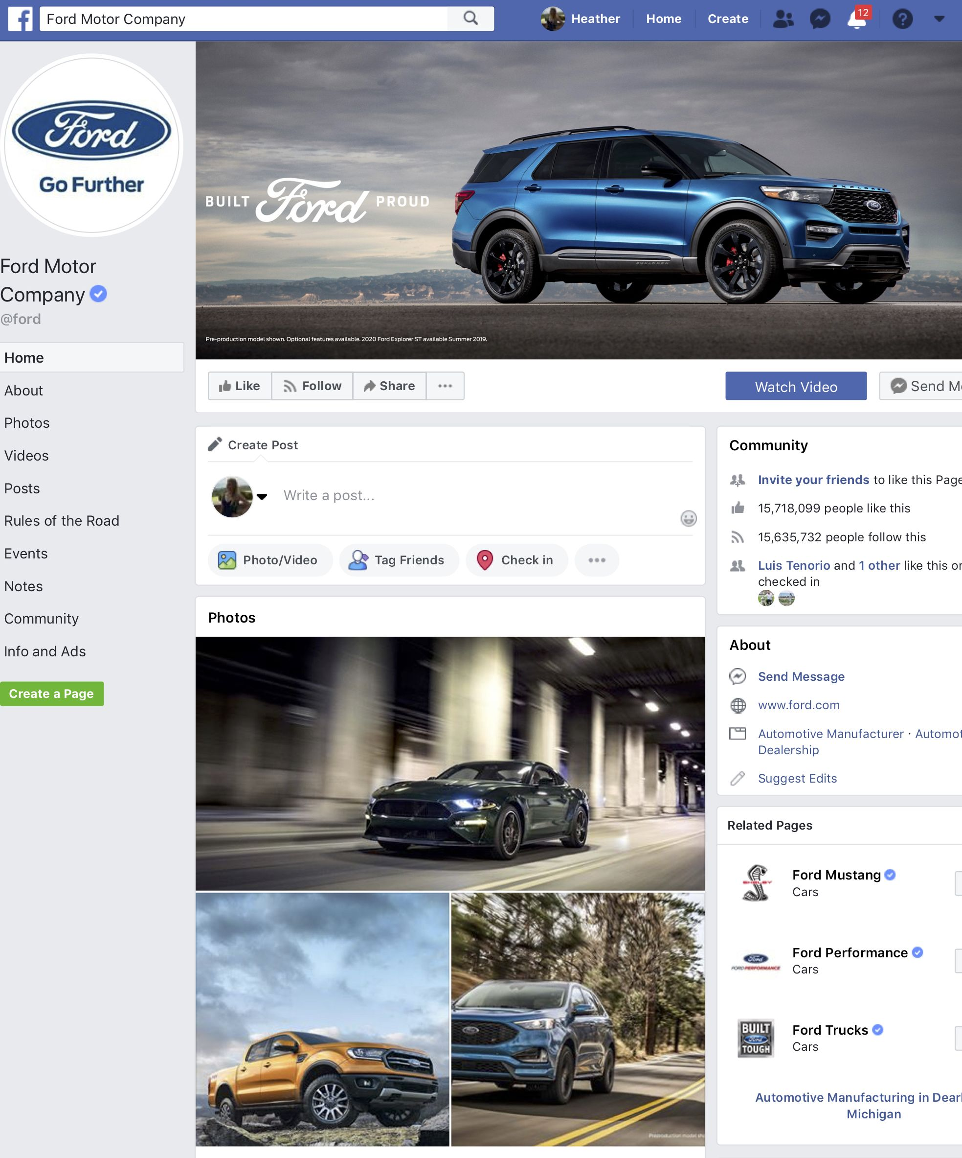 Customer Journey Stage 2 Engagement After Seeing The Ford Truck
