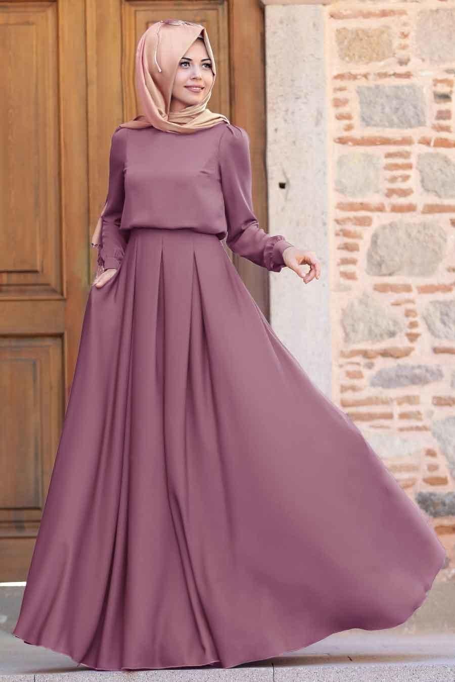 Tesetturlu Abiye Elbise Gulce Gul Kurusu Tesettur Abiye Elbise 6753gk Tesetturisland Com Islami Giyim Elbise Giyim