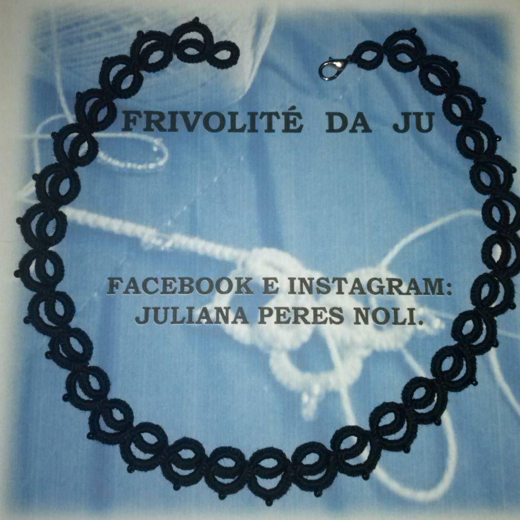 julianaperesnoli - #frivolitet #frivolite #tatting #chiacchierino ...