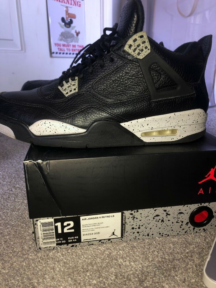 2a80f324bb18 Air Jordan Oreo 4 #fashion #clothing #shoes #accessories #mensshoes  #athleticshoes (ebay link)
