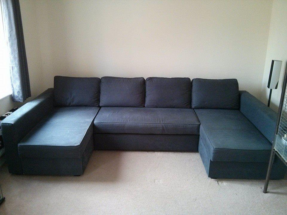 Manstad Manstad Massive U Shaped Sofabed Ikea Hackers Ikea Living Room Ikea Sofa Bed Friheten Sofa