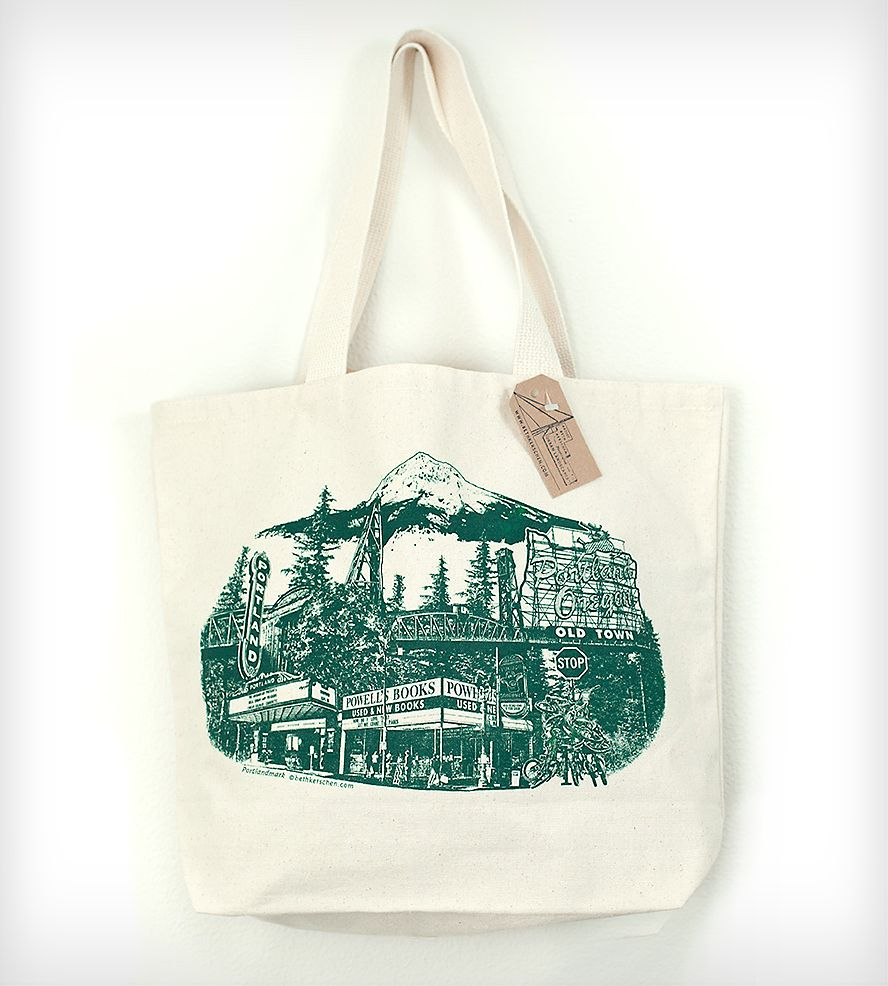 The Ultimate Portland Canvas Tote Bag This Is The