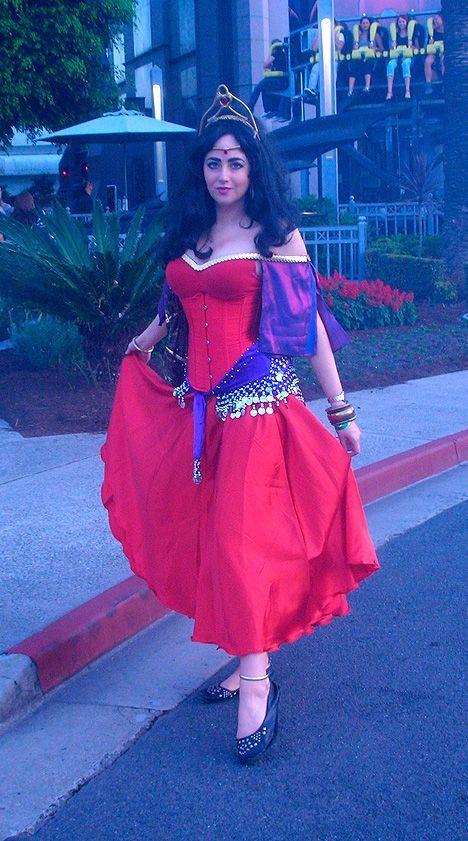 12 Best DIY The Hunchback of Notre Dame Esmeralda Costume ... |Diy Esmeralda Costume