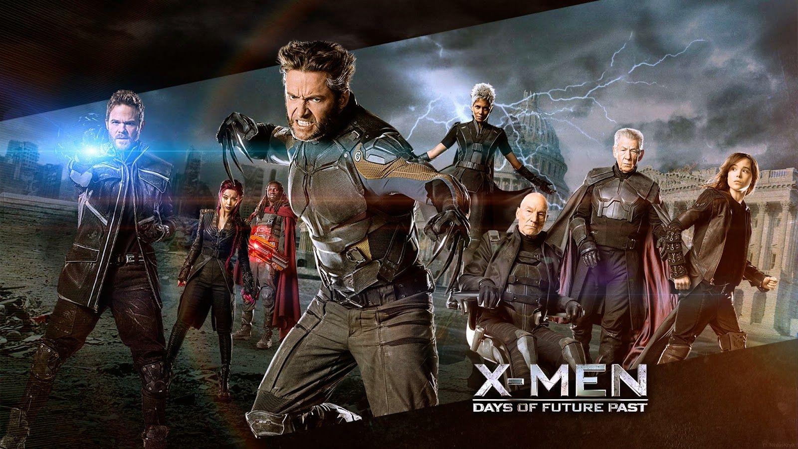 X Men Days Of Future Past Wallpaper Días Del Futuro Pasado