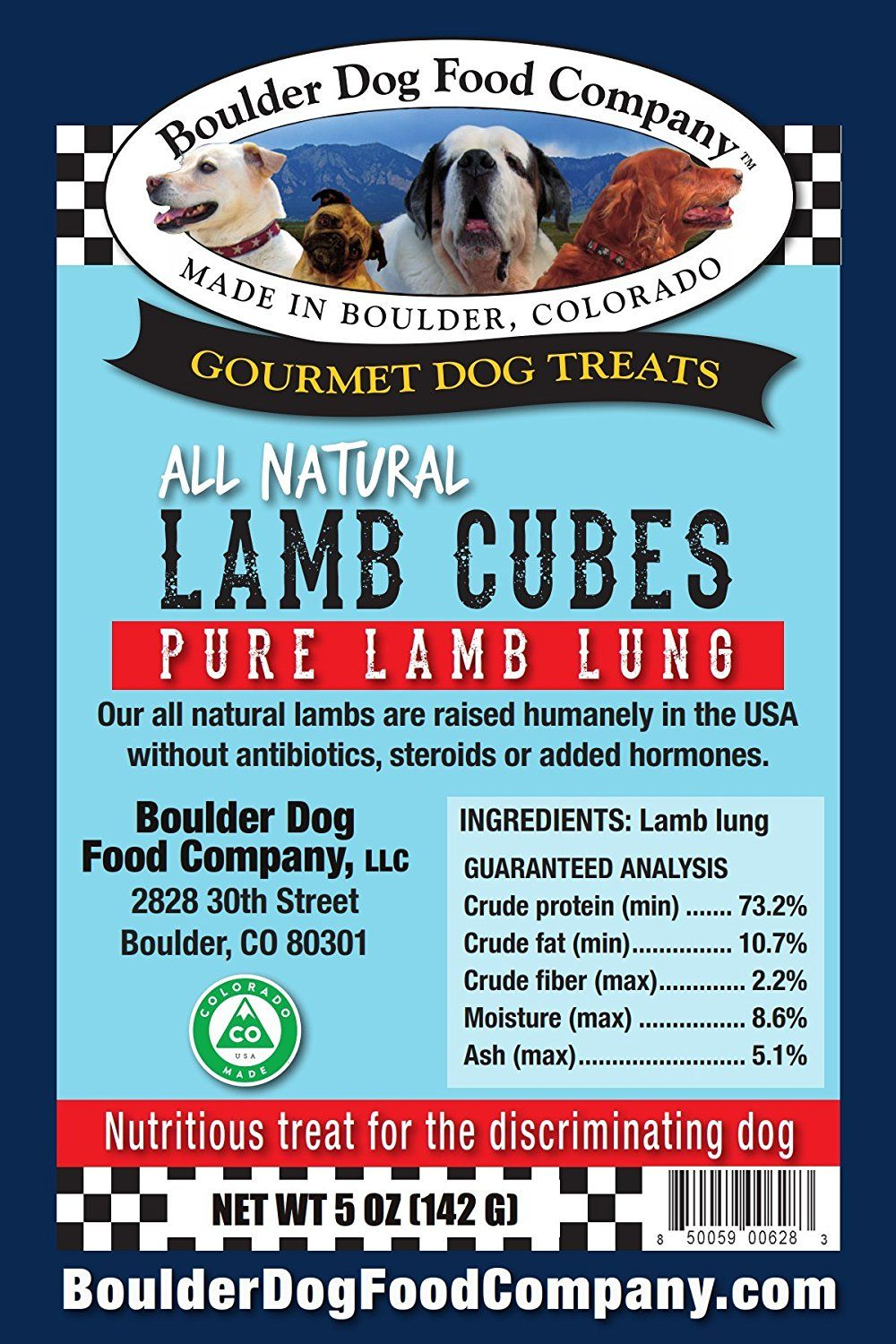 Boulder Dog Food Company Lamb Wafers And Cubes Want To Know