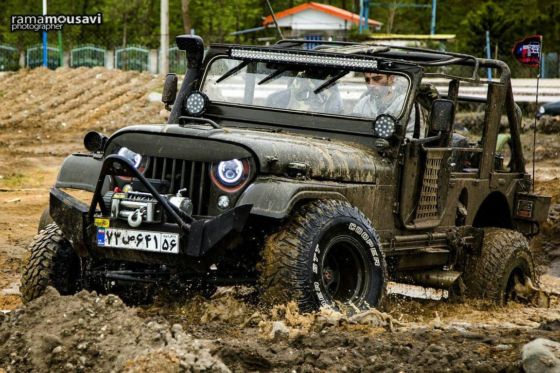 Jeep m170 tigon offroad group