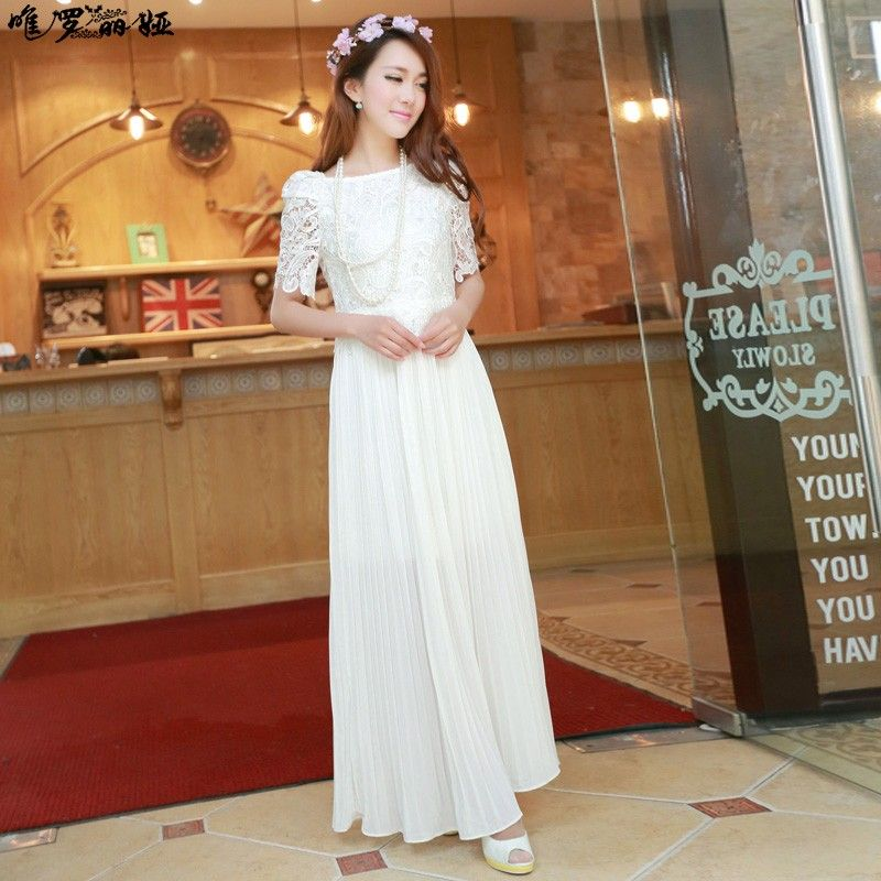 Cheap white dress long sleeve