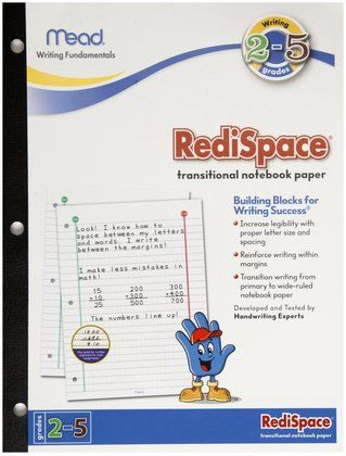Mead Redispace Transitional Notebook Paper Stage   Sheets