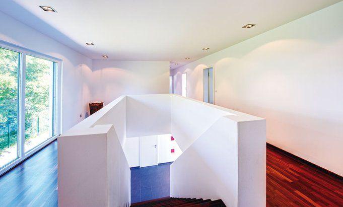 innenraum klassisch modernes haus im bauhaus stil von b denbender dux pinterest. Black Bedroom Furniture Sets. Home Design Ideas