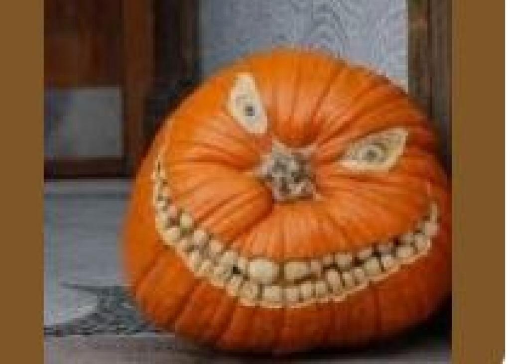 Ne vous contentez pas de creuser des triangles dans vos citrouilles d 39 halloween 30 id es - Citrouille effrayante ...