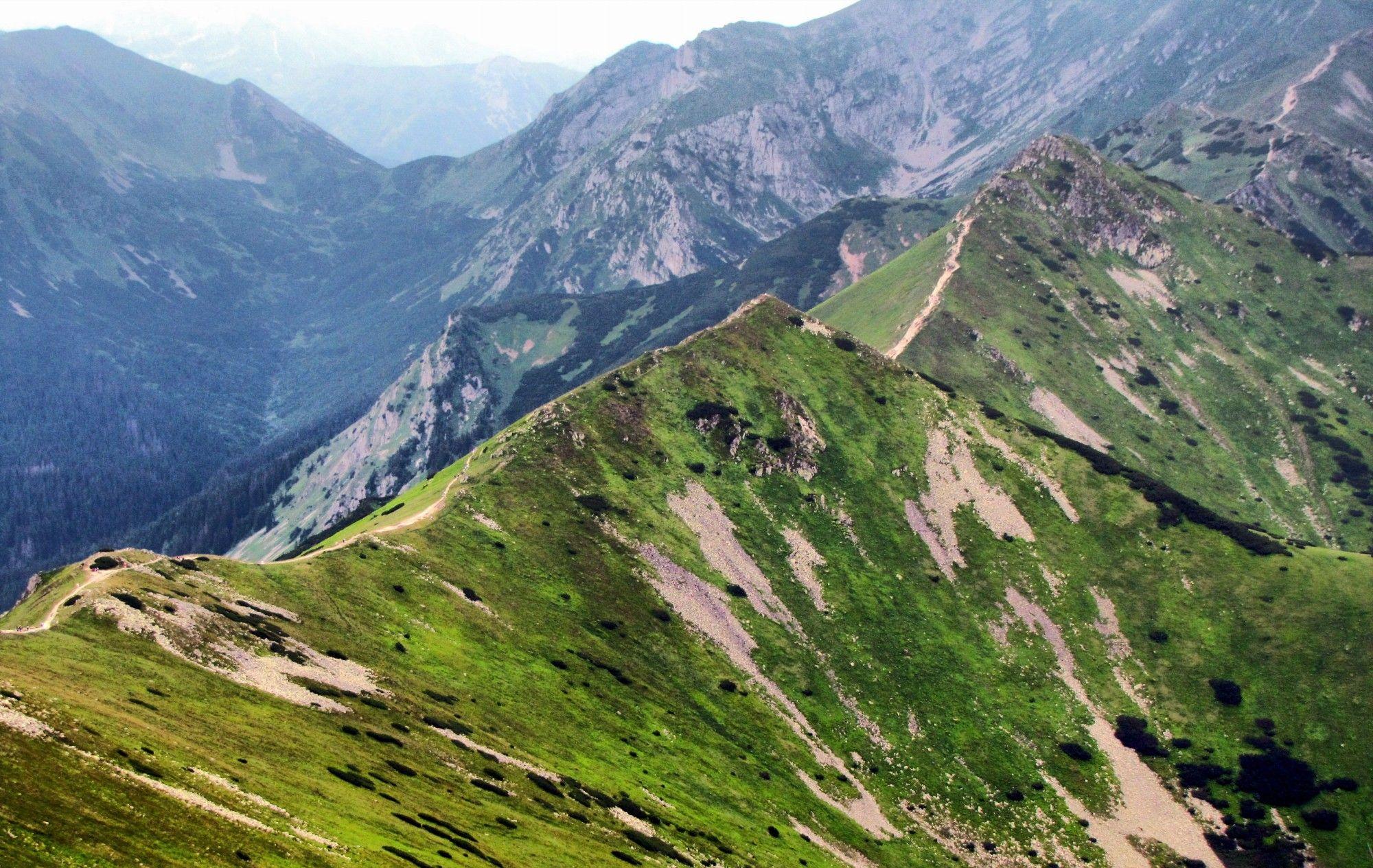 Widok Z Kasprowego Wierchu Natural Landmarks Polish Mountains Landmarks