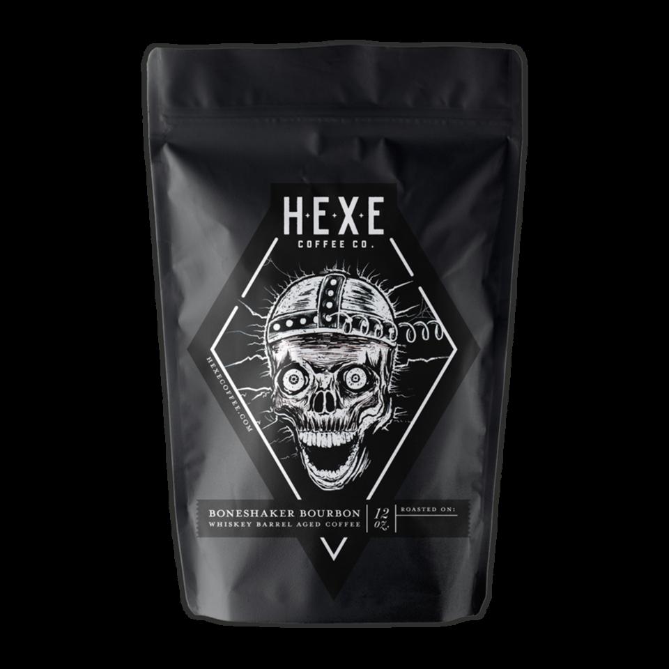 Boneshaker BarrelAged coffee by Hexe Coffee Co. on Javaya