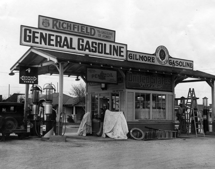 Old gas stations image by Ken Schilling on Vintage Gas
