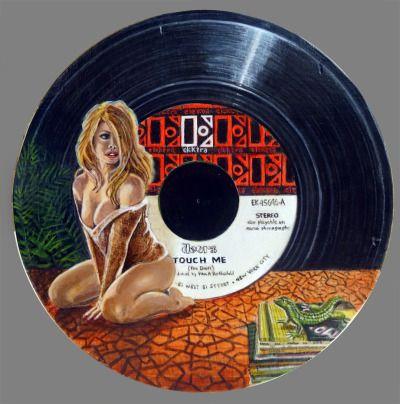 The Doors, Vinyl Art par Jacques Puiseux alias jpsx. Merci Jacques !