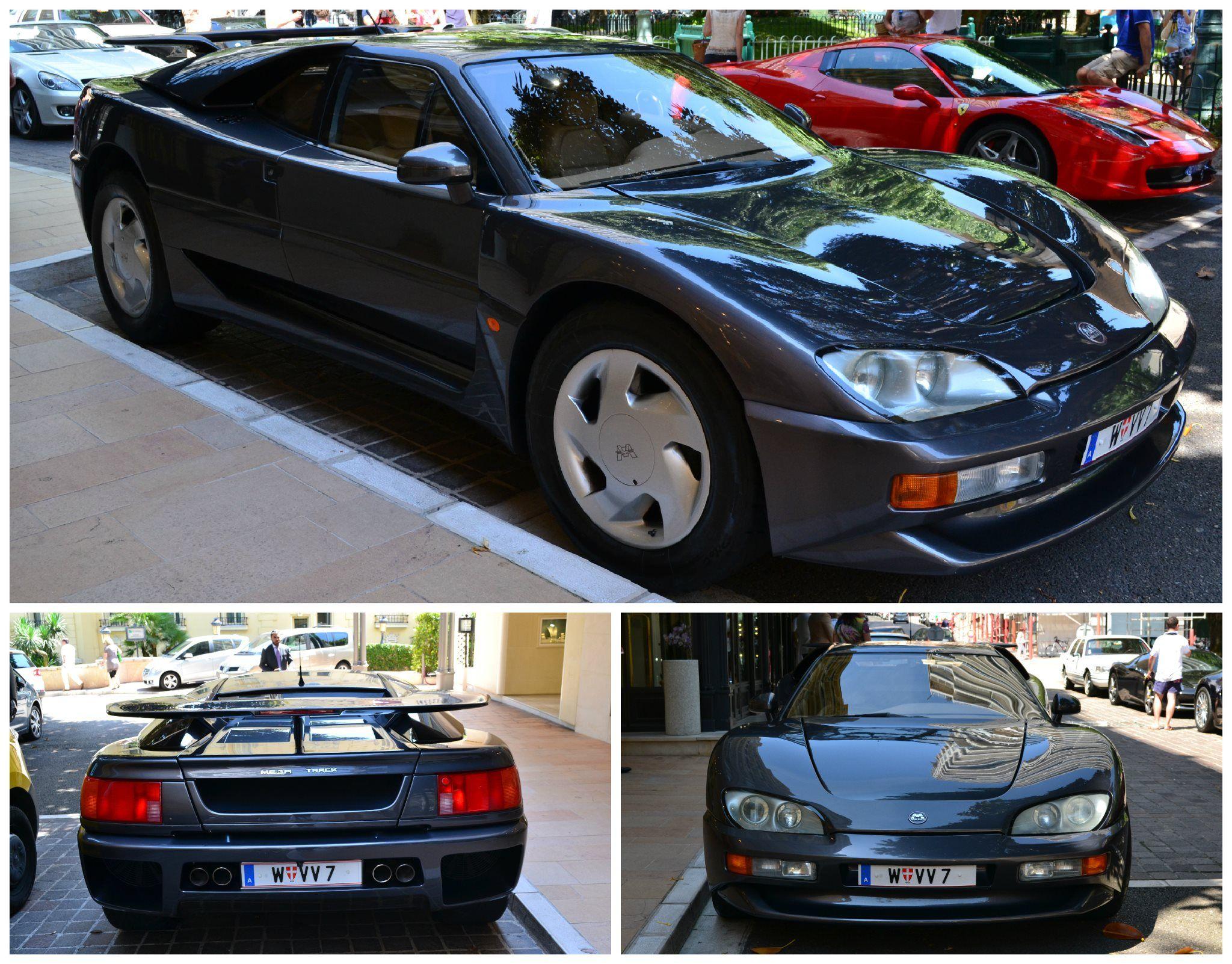 Mega Track In Monte Carlo Car Monte Carlo Bmw