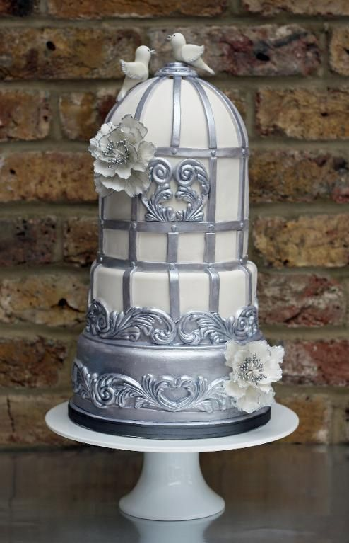 bird cage wedding cake baroque cake cake decorating ideas project on craftsy 11776