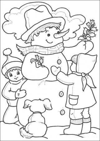 Прикрепленное изображение | malen | weihnachtsmalvorlagen