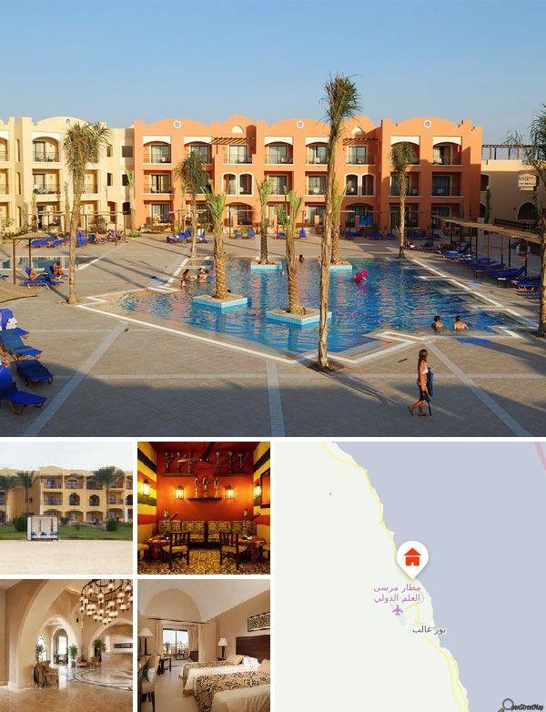 O resort situa-se idealmente em Madinar Coraya e conta com boas ofertas de actividades, partilhando a baía com uma praia privativa. Fica apenas a 5 km do Aeroporto Internacional Marsa Alam, a 210 km a Sul de Hurghada e a 70 km da zona histórica de El Qusier.