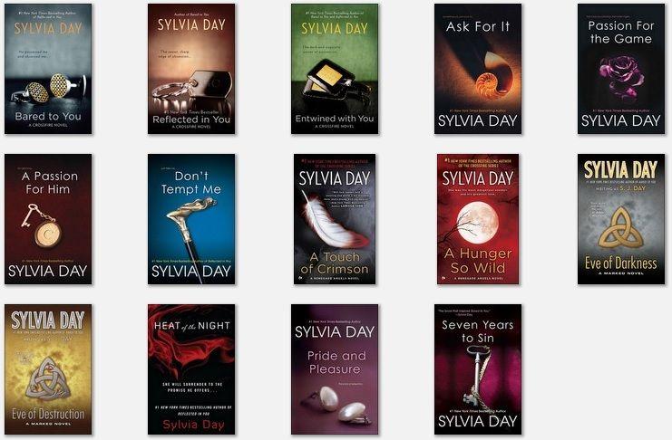 En Sylvia Day Audiobooks Collection Geek Books Sylvia Day Book Boyfriends
