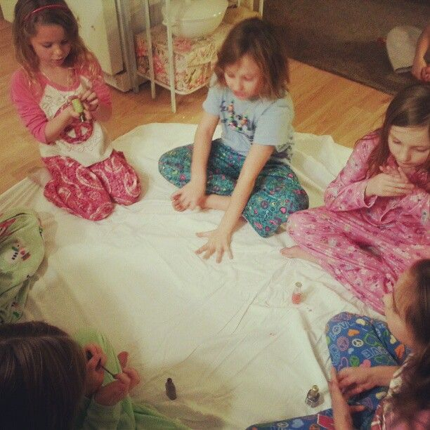 Nail Polish Bottles Fun Sleepover Games And Sleepover: Musical Nail Polish: Everyone Holds A Nail Polish. Pass