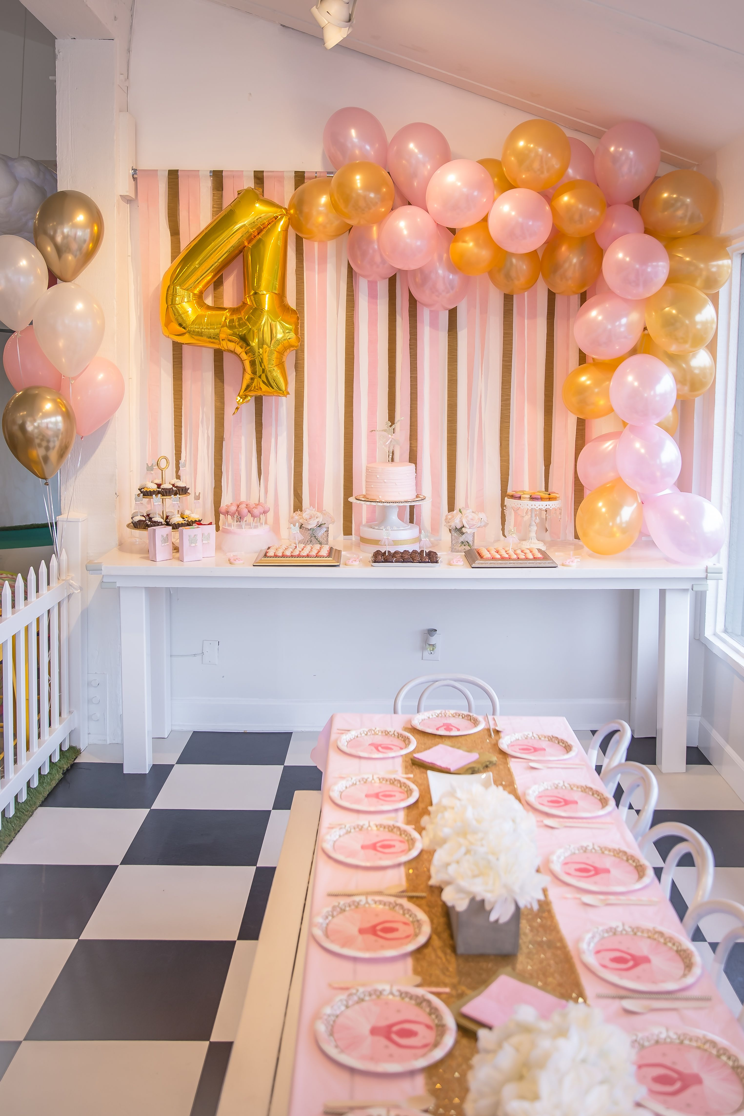 Ballerina Birthday Party Parties 5th Decorations